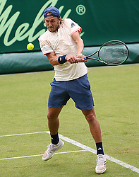 June 19, 2018 - Halle, Allemagne - French player Lucas Pouille  (Credit Image: © Panoramic via ZUMA Press)