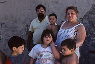 France. Marseille. A family of gypsies living in a squat, rue Felix Pyat.  Marseille  France    /une famille de gitans vivant dans un squat rue Félix Pyat.  Marseille  France  /R00015/34    L2827  /  P0004038