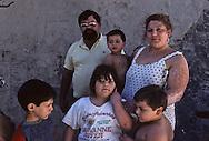 France. Marseille. A family of gypsies living in a squat, rue Felix Pyat.  Marseille  France    /une famille de gitans vivant dans un squat rue Félix Pyat.  Marseille  France  /R00015/34    L2827  /  P0004038
