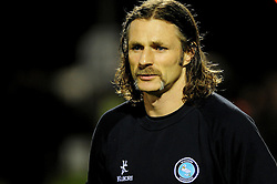 Wycombe Wanderers' Manger, Gareth Ainsworth - Photo mandatory by-line: Dougie Allward/JMP  - Tel: Mobile:07966 386802 04/12/2012 - SPORT - FOOTBALL - Johnstone's Paint Trophy  -  Yeovil  -  Huish Park  -  Yeovil Town V Wycombe Wanderers