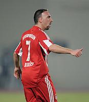 Fussball 1. Bundesliga  Saison   2010/2011   08.01.2011 FC Bayern Muenchen -  Al Wakrah Sport Club Franck Ribery (FC Bayern Muenchen)