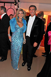 LISA TCHENGUIZ and STEVE VORSARI at the Raisa Gorbachev Foundation Gala held at the Stud House, Hampton Court, Surrey on 22nd September 22 2011