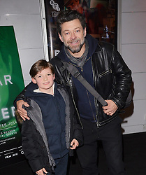 Andy Serkis and Louis attend The Boy in The Dress - TV Screening at BFI Southbank, Belvedere Road, London on Sunday 14th December 2014