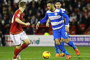 QPR midfielder Matt Phillips wins the ball in midfield during the Sky Bet Championship match between Nottingham Forest and Queens Park Rangers at the City Ground, Nottingham, England on 26 January 2016. Photo by Aaron Lupton.