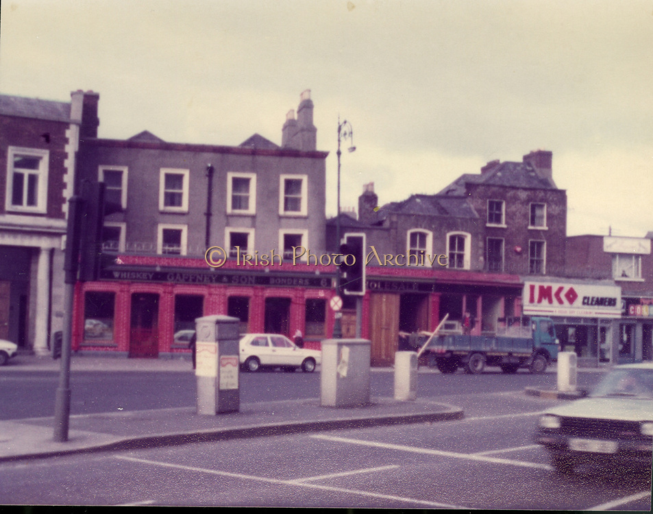 Old Dublin Amature Photos Date Unknown With 1980s, gAFFNEY AND SON, PUB, FAIRVIEW, imco cleaners,