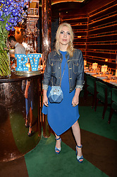CAMILLE SEYDOUX at a dinner hosted by Roger Vivier to celebrate The Prismick Denim by Camillle Seydoux held at Casa Cruz, 123 Clarendon Road, London on 17th March 2016.