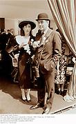 Lord and Lady Vestey. <br />Prix de Diane-Hermes.Chantilly.14June 1987.Film no 87466 fr26.<br />© Copyright Photograph by Dafydd Jones<br />66 Stockwell Park Rd. London SW9 0DA<br />Tel 0171 733 0108