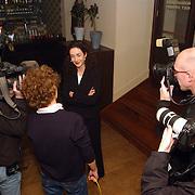Start verkiezingscampagne GroenLinks, Femke Halsema, camera, pers, belangstelling, interview