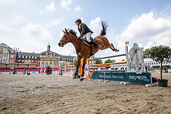 WERNKE Jan (GER), QUEEN MARY 10<br /> Münster - Turnier der Sieger 2019<br /> Preis des EINRICHTUNGSHAUS OSTERMANN, WITTEN<br /> CSI4* - Int. Jumping competition  (1.45 m) - <br /> 1. Qualifikation Mittlere Tour<br /> Medium Tour<br /> 02. August 2019<br /> © www.sportfotos-lafrentz.de/Stefan Lafrentz