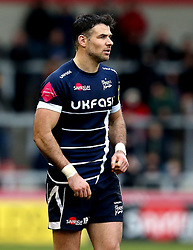 Mike Phillips of Sale Sharks - Mandatory by-line: Robbie Stephenson/JMP - 19/02/2017 - RUGBY - AJ Bell Stadium - Sale, England - Sale Sharks v Wasps - Aviva Premiership
