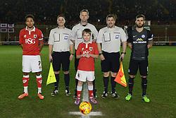 Mascot - Photo mandatory by-line: Dougie Allward/JMP - Mobile: 07966 386802 - 17/02/2015 - SPORT - Football - Bristol - Ashton Gate - Bristol City v Peterborough United - Sky Bet League One