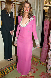 The HON.ILONA GUEST at a fashion show of Sybil Stanislaus Summer 2005 collection with jewellery by Philippa Holland held at The Lanesborough Hotel, Hyde Park Corner, London on 13th April 2005.<br />
