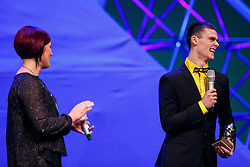 Tim Gajser at Slovenian Sports personality of the year 2016 annual awards presented on the base of Slovenian sports reporters, on December 13, 2016 in Cankarjev dom, Ljubljana, Slovenia. Photo by Grega Valancic / Sportida