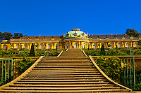 Sanssouci Palace, Sanssouci Park (a UNESCO World Heritage site), Potsdam, Germany