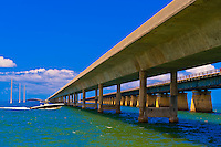 Seven Mile Bridge, Marathon Key, Florida Keys, Florida USA