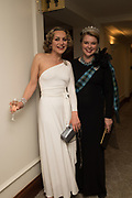 MARTHA SITWELL, CAROLINE, LADY DALMENY, The 171 st Royal Caledonian Ball 2019, Grovenor House, Park Lane, London. 3 May 2019