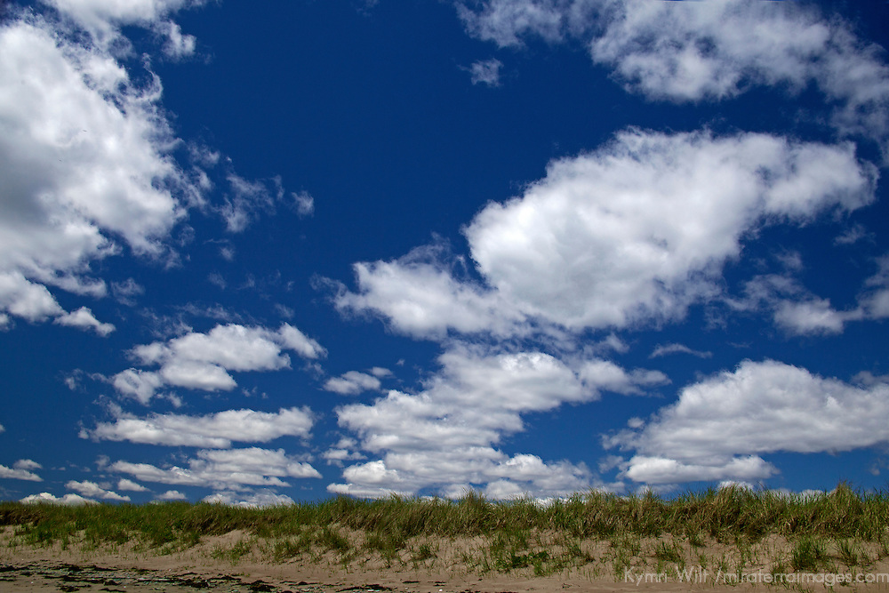 North America, Canadam Nova Scotia, Martinique Beach. Dune and Sky at Martinique Beach.
