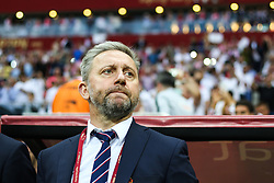 June 10, 2019 - Warsaw, Poland - Jerzy Brzeczek of Poland looks on during the UEFA Euro 2020 qualifier Group G football match Poland against Israel on June 10, 2019 in Warsaw, Poland. (Credit Image: © Foto Olimpik/NurPhoto via ZUMA Press)