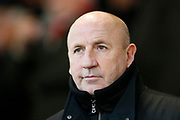 Accrington Stanley Manager John Coleman during the The FA Cup 3rd round match between Accrington Stanley and Ipswich Town at the Fraser Eagle Stadium, Accrington, England on 5 January 2019.