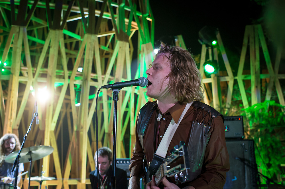 Bill Purcell, Ty Segall on the Treeline Stage.