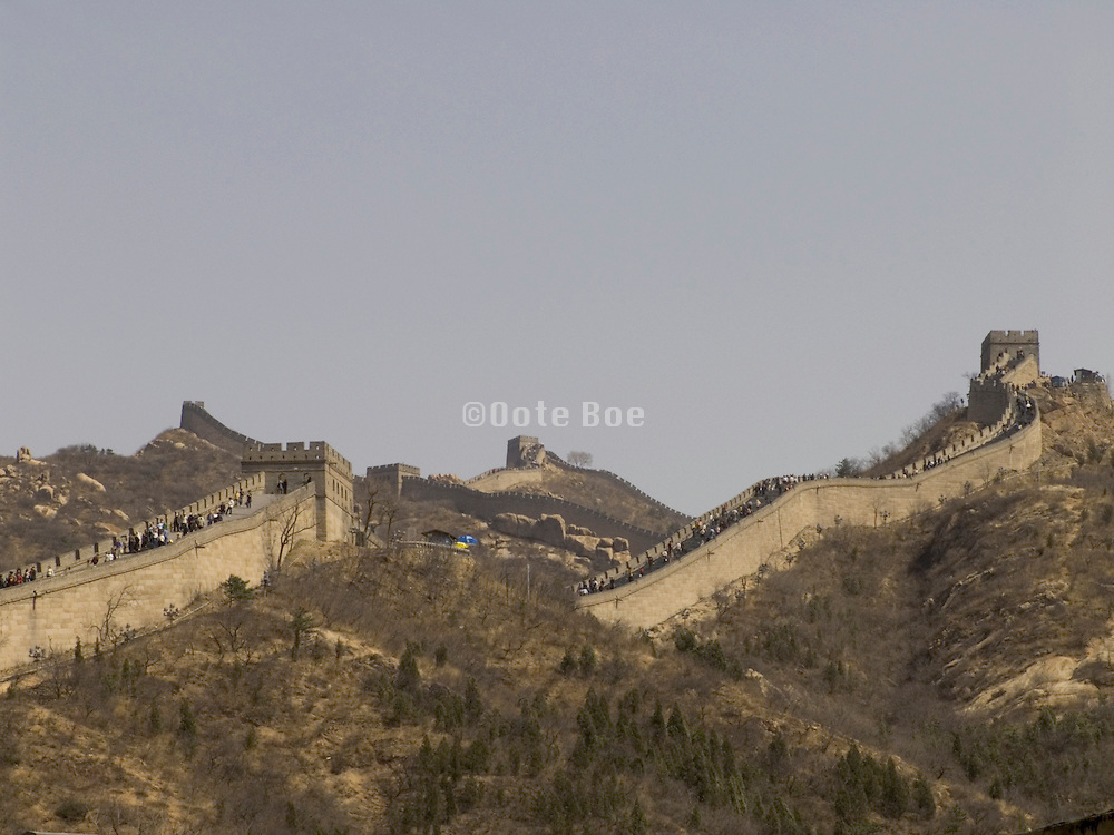 the Great Wall at Badaling Beijing China
