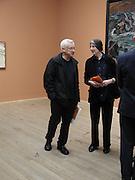 Michael Craig-Martin.<br />Max Beckman private view, Tate Modern, 10 February 2003. © Copyright Photograph by Dafydd Jones 66 Stockwell Park Rd. London SW9 0DA Tel 020 7733 0108 www.dafjones.com