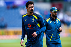 Mitchell Starc of Australia - Mandatory by-line: Robbie Stephenson/JMP - 06/07/2019 - CRICKET - Old Trafford - Manchester, England - Australia v South Africa - ICC Cricket World Cup 2019 - Group Stage