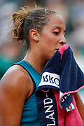 Madison KEYS (USA) during the Roland Garros French Tennis Open 2018, day 12, on June 7, 2018, at the Roland Garros Stadium in Paris, France - Photo Stephane Allaman / ProSportsImages / DPPI