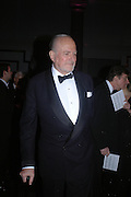 Claus von Bulow. The Black and White Winter Ball. Old Billingsgate. London. 8 February 2006. -DO NOT ARCHIVE-© Copyright Photograph by Dafydd Jones 66 Stockwell Park Rd. London SW9 0DA Tel 020 7733 0108 www.dafjones.com