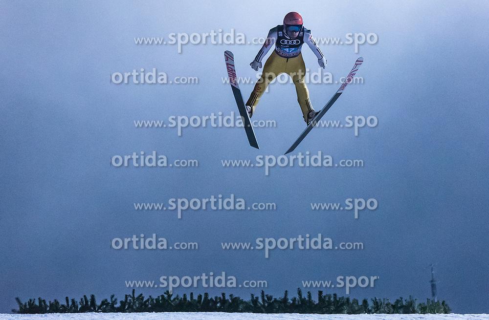 06.01.2018, Paul Außerleitner Schanze, Bischofshofen, AUT, FIS Weltcup Ski Sprung, Vierschanzentournee, Bischofshofen, Finale, im Bild Pius Paschke (GER) // Pius Paschke of Germany during his Competition Jump for the Four Hills Tournament of FIS Ski Jumping World Cup at the Paul Außerleitner Schanze in Bischofshofen, Austria on 2018/01/06. EXPA Pictures © 2018, PhotoCredit: EXPA/ Stefanie Oberhauser