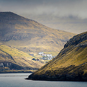 Village of Bøur, Vágar, Faroe Islands.