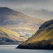 Village of Bøur, Vágar, Faroe Islands.