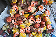 Low Country Boil by Rodney Bedsole, a food photographer based in Nashville and New York City.