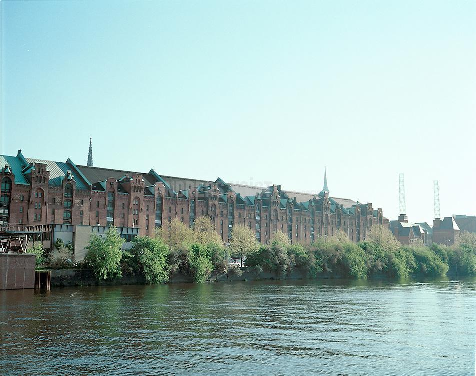 Speicherstadt am Sandtorkai in Hamburg