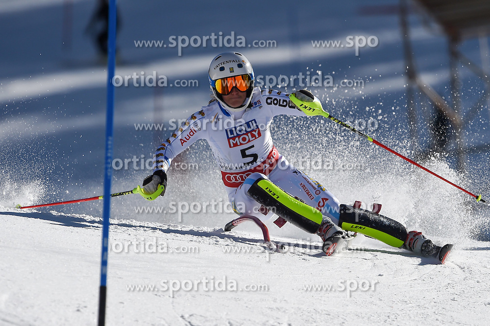 14.02.2015, Birds of Prey, Beaver Creek, USA, FIS Weltmeisterschaften Ski Alpin, Vail Beaver Creek 2015, Damen, Slalom, 2. Durchgang, im Bild Maria Pietilae-Holmner (SWE) // Maria Pietilae-Holmner of Sweden in action during 2nd run of the ladie's Slalom of FIS Ski World Championships 2015 at the Birds of Prey in Beaver Creek, United States on 2015/02/14. EXPA Pictures © 2015, PhotoCredit: EXPA/ Jonas Ericson