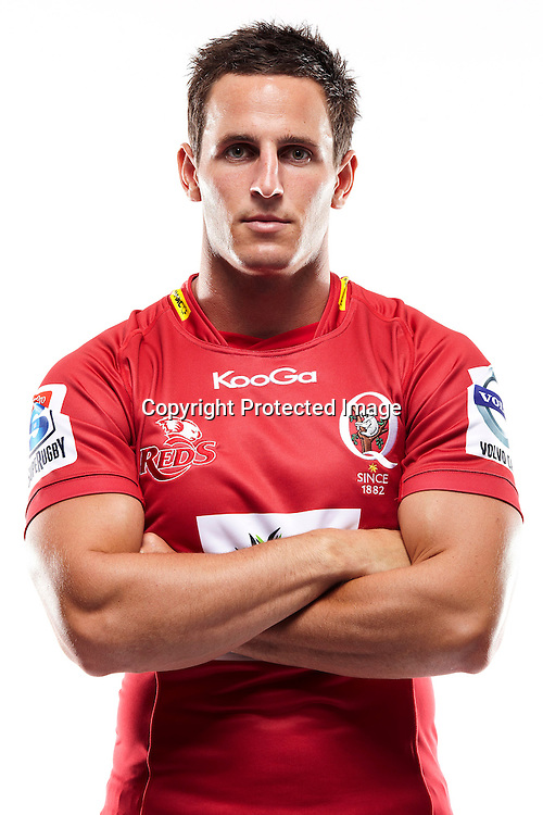 Mike Harris  - Headshots 2012 St.George Queensland Reds FxPro Super Rugby season