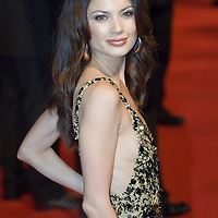LONDON - FEBRUARY 12: NATASSIA SCARLET MALTHE at the UK gala premiere of 'Rambo' at the Vue cinema, Leicester Square on February 12, 2008 in London, England.