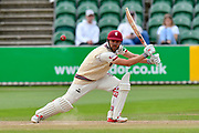 James Hildreth of Somerset batting during the Specsavers County Champ Div 1 match between Somerset County Cricket Club and Middlesex County Cricket Club at the Cooper Associates County Ground, Taunton, United Kingdom on 27 September 2017. Photo by Graham Hunt.