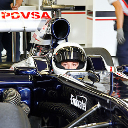 Susie Wolff test drive of the Williams F1 race car at Silverstone....(c) STEPHEN LAWSON | StockPix.eu