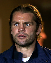 "MK Dons manager Robbie Neilson during the Carabao Cup, Second Round match at Stadium MK, Milton Keynes. PRESS ASSOCIATION Photo. Picture date: Tuesday August 22, 2017. See PA story SOCCER MK Dons. Photo credit should read: Scott Heavey/PA Wire. RESTRICTIONS: EDITORIAL USE ONLY No use with unauthorised audio, video, data, fixture lists, club/league logos or ""live"" services. Online in-match use limited to 75 images, no video emulation. No use in betting, games or single club/league/player publications."