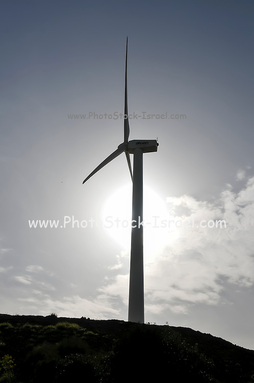 Wind turbines create clean and renewable electricity
