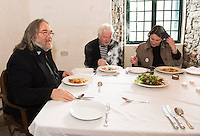 At Home with Yeats........<br /> <br /> An evening of poetry, song, and story for Poetry Ireland Day.<br /> <br /> Willie Yeats returns to his old home for an evening&rsquo;s sonic celebration with celebrated poets Mary O&rsquo;Malley and Sarah Clancy, and musicians Charlie Piggott, Carmel Dempsey and John Faulkner. As a campaign fundraising event for the Yeats Thoor Ballylee Society, proceeds go to the development of the tower, especially opened for the day&rsquo;s events!<br /> <br /> At the event were Musicians John Faulkner , Charlie Piggott, and Poet Mary O Malley .<br />  Photo:Andrew Downes, XPOSURE