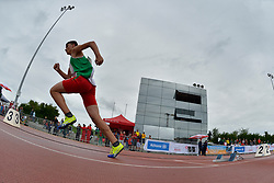 06/08/2017; Yanutsik, Viktar, T13, BLR at 2017 World Para Athletics Junior Championships, Nottwil, Switzerland