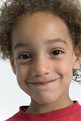 Little boy smiling,