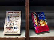 "Books found on a shelf in the library - ""Unruly Americans"" and ""How To Be Bad"""
