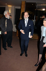 HRH PRINCE MICHAEL OF KENT at a private view of the forthcoming sale 'From the Collection of King George 1 of The Hellenes', held at Christie's. King Street, London on 22nd January 2007.<br /><br />NON EXCLUSIVE - WORLD RIGHTS