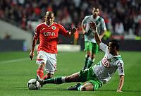 20120114: LISBON, PORTUGAL – Liga Zon Sagres 2011/2012: SL Benfica vs V. Setubal. In picture: Maxi Pereira (Benfica).<br />PHOTO: Alvaro Isidoro/CITYFILES