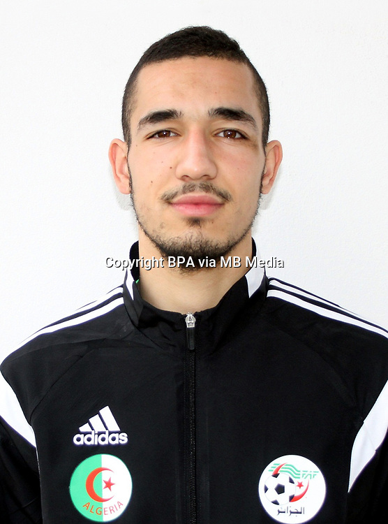 Confederation of African Football - World Cup Fifa Russia 2018 Qualifier / <br /> Algeria National Team - Preview Set - <br /> Nabil Bentaleb