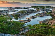 Ett gytter av klippor och skär på Stora-Nassa i Stockholms ytterskärgård