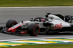 November 9, 2018 - Sao Paulo, Brazil - Motorsports: FIA Formula One World Championship 2018, Grand Prix of Brazil World Championship;2018;Grand Prix;Brazil ,  #8 Romain Grosjean (FRA, Haas F1 Team) (Credit Image: © Hoch Zwei via ZUMA Wire)